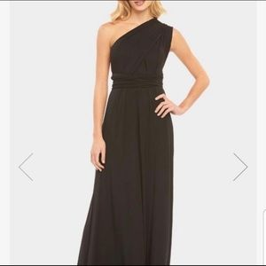 Tart Long Black Infinity Wrap Dress 👗